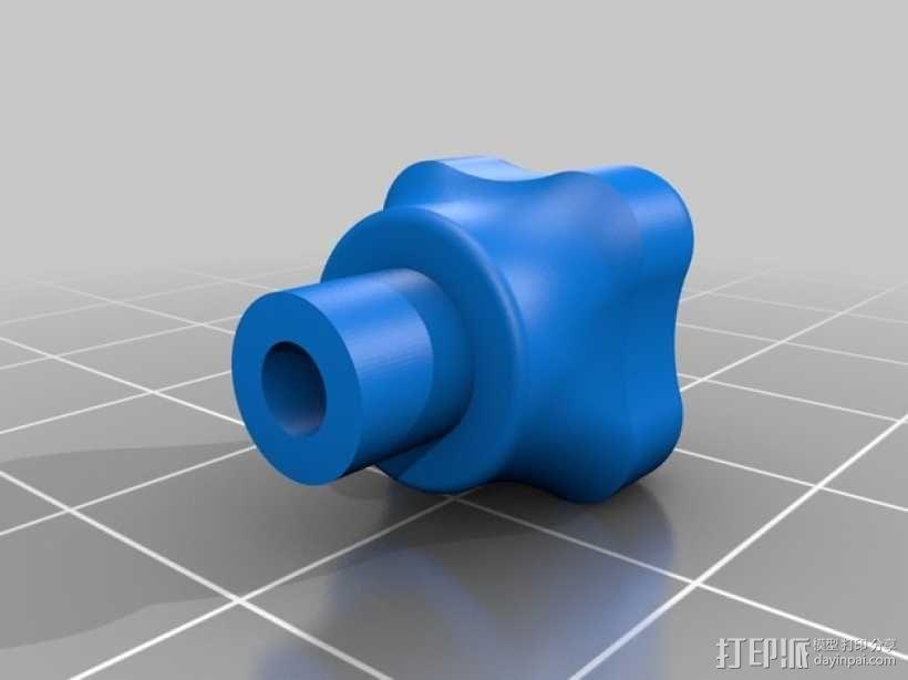 DJI Phantom 2四轴航拍器平衡环 3D模型  图10