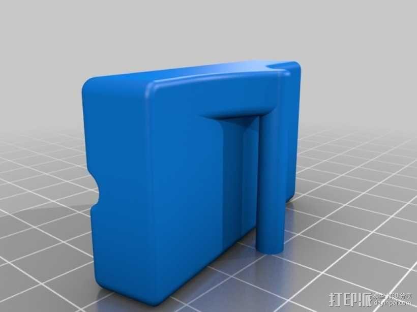 钓鱼线清理和重绕装置 3D模型  图9
