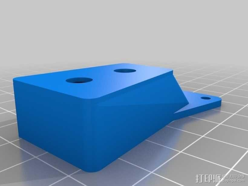 无人机LED环和保护装置 3D模型  图3