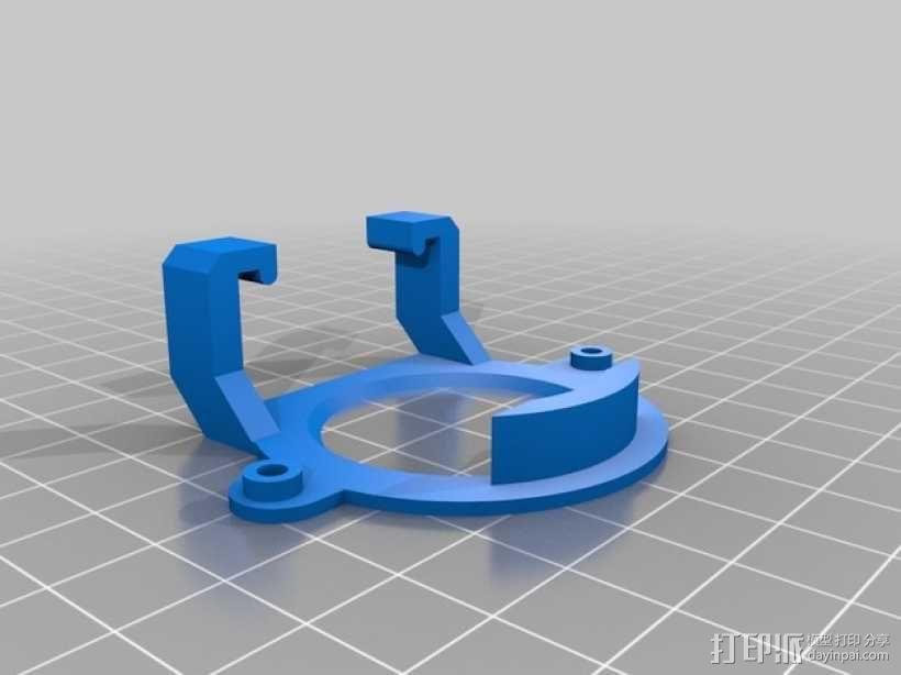 无人机LED环和保护装置 3D模型  图4