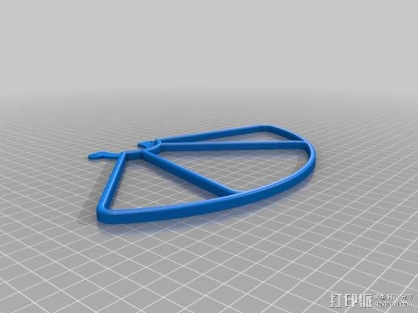 无人机LED环和保护装置 3D模型  图6
