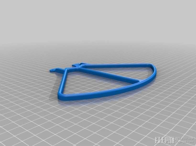 无人机LED环和保护装置 3D模型  图8