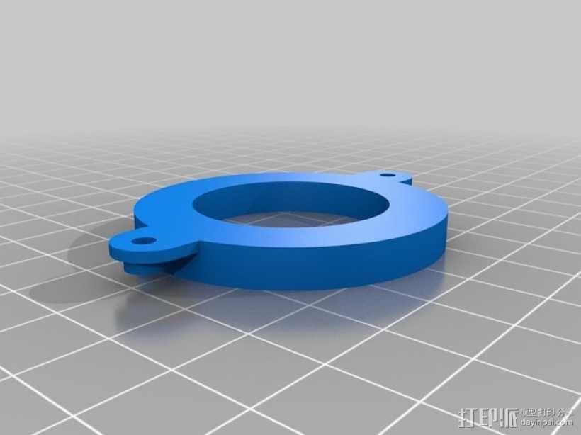 无人机LED环和保护装置 3D模型  图7