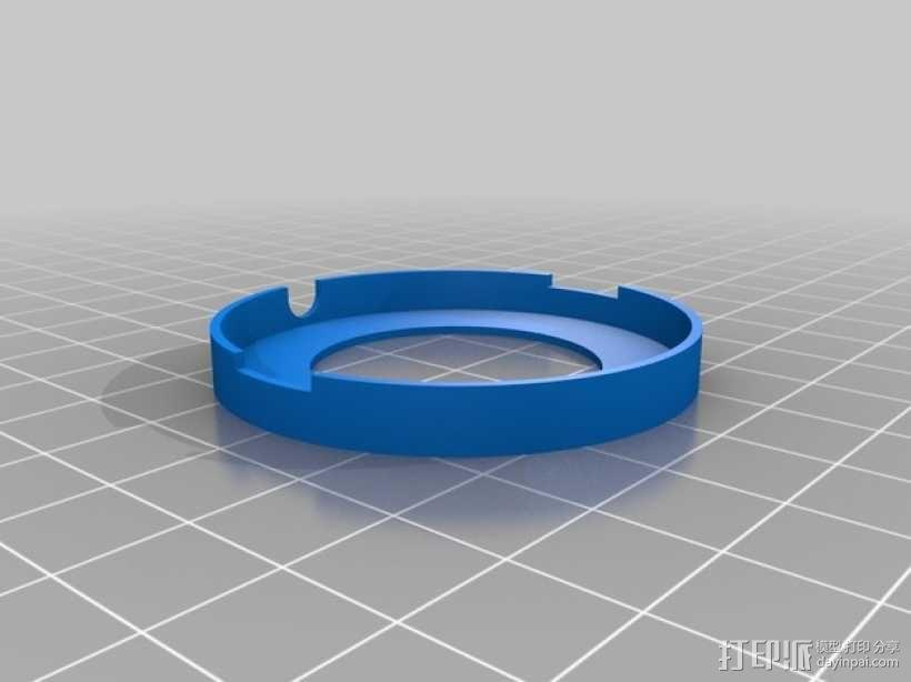 无人机LED环和保护装置 3D模型  图11