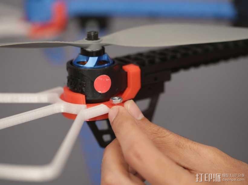 无人机LED环和保护装置 3D模型  图14