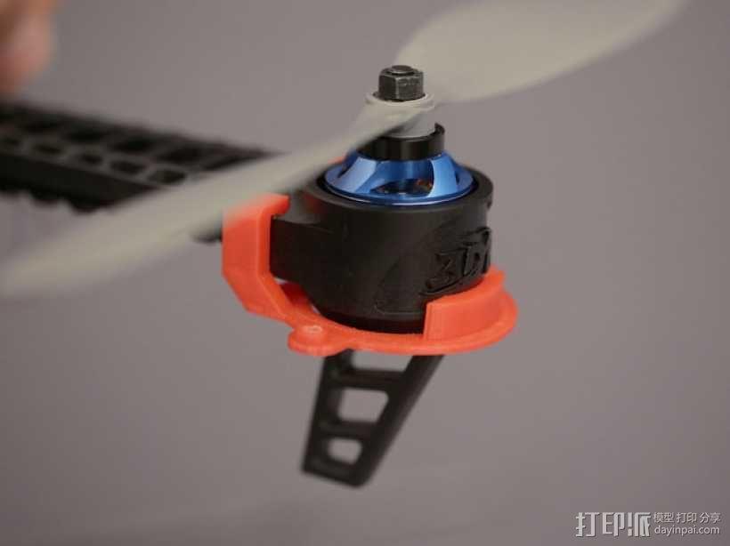 无人机LED环和保护装置 3D模型  图12