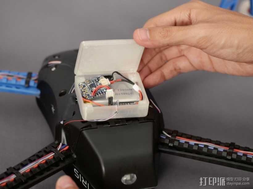 无人机LED环和保护装置 3D模型  图15