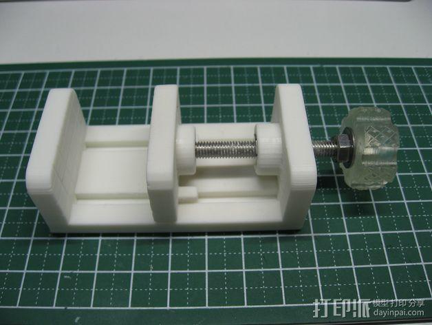 参数型可打印虎钳夹 3D模型  图3