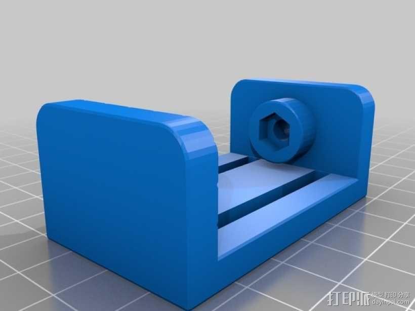 参数型可打印虎钳夹 3D模型  图5