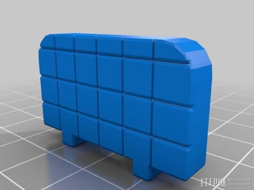 参数型可打印虎钳夹 3D模型  图6