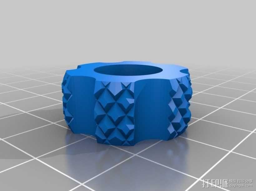 参数型可打印虎钳夹 3D模型  图7