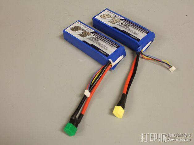 XT60 锂电池插口保护壳 3D模型  图5