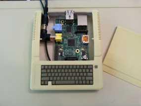 苹果二代电脑树莓派外壳 3D模型