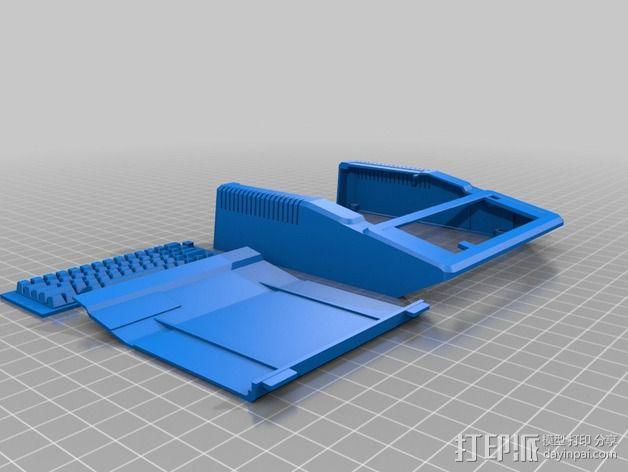 苹果二代电脑树莓派外壳 3D模型  图2