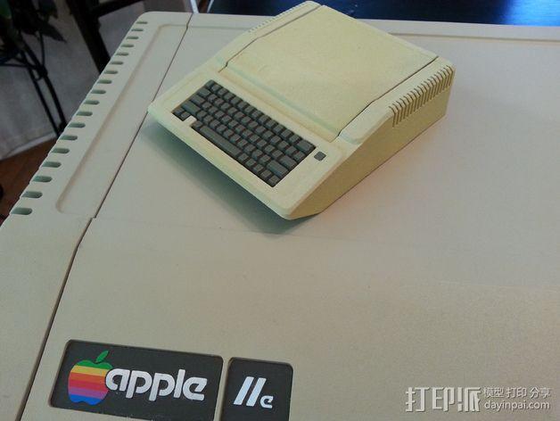 苹果二代电脑树莓派外壳 3D模型  图5