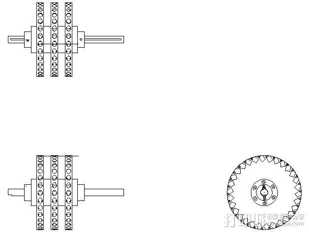 Perendev磁钢电动机 3D模型  图2