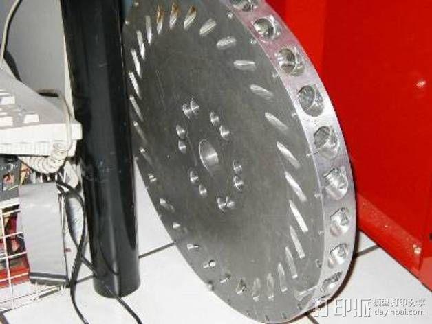 Perendev磁钢电动机 3D模型  图4