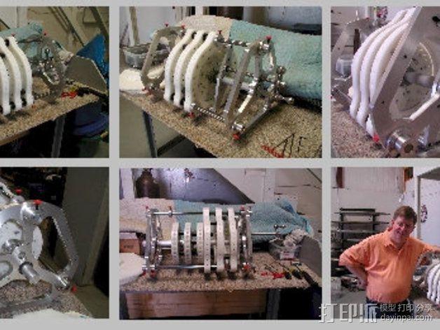 Perendev磁钢电动机 3D模型  图11