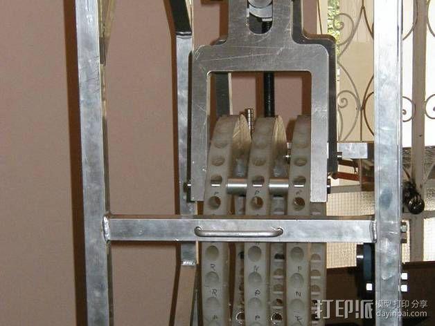 Perendev磁钢电动机 3D模型  图19
