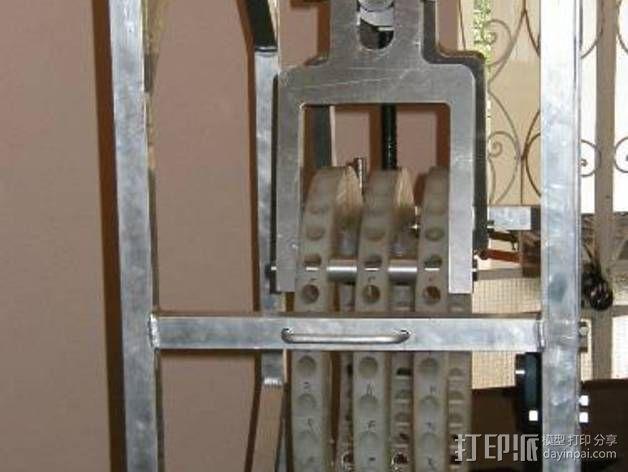 Perendev磁钢电动机 3D模型  图35