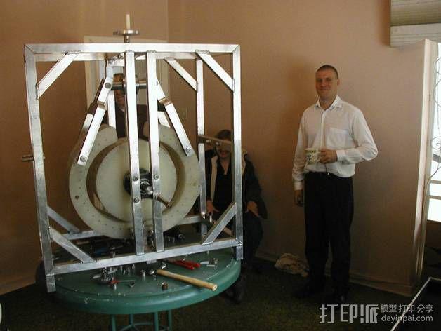 Perendev磁钢电动机 3D模型  图39