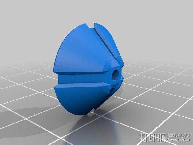SPW天线稳定器 3D模型  图2