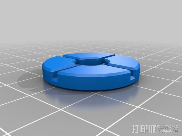 SPW天线稳定器 3D模型  图3