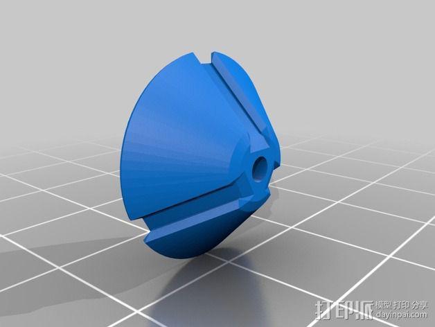 SPW天线稳定器 3D模型  图4