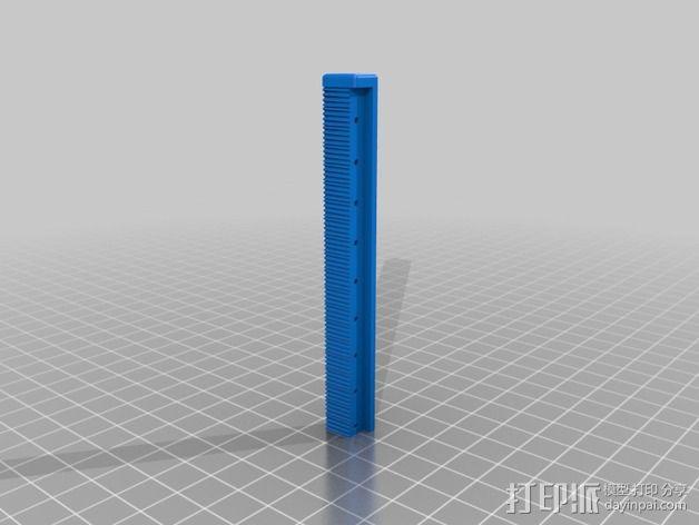 线性伺服零部件 3D模型  图7