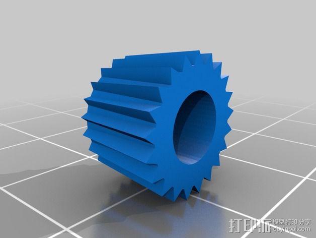 线性伺服零部件 3D模型  图8