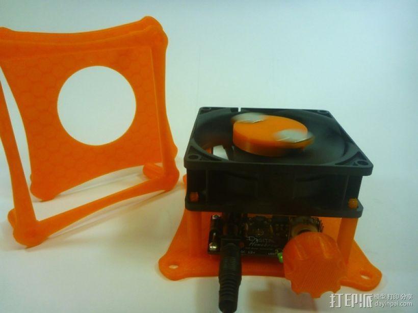 家用DIY搅拌器套件 保护套 3D模型  图3