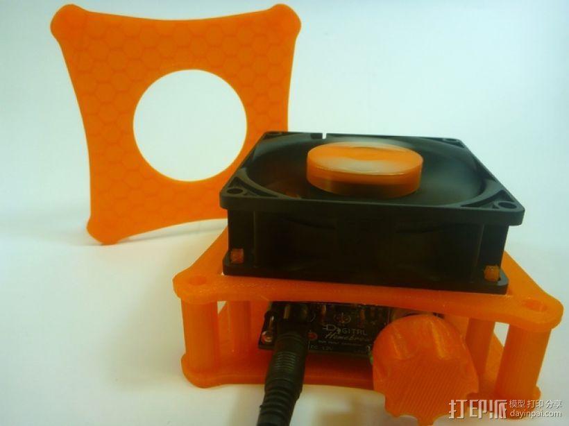 家用DIY搅拌器套件 保护套 3D模型  图2