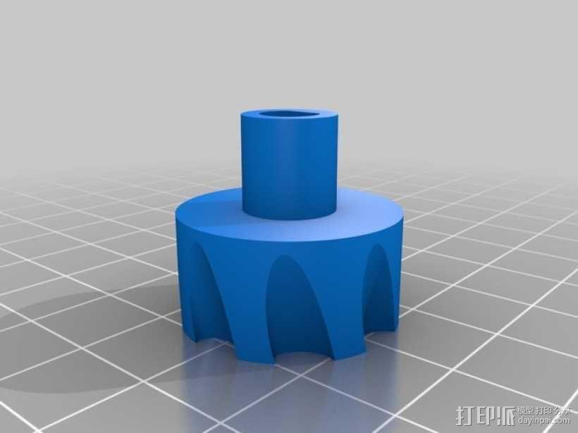 家用DIY搅拌器套件 保护套 3D模型  图4