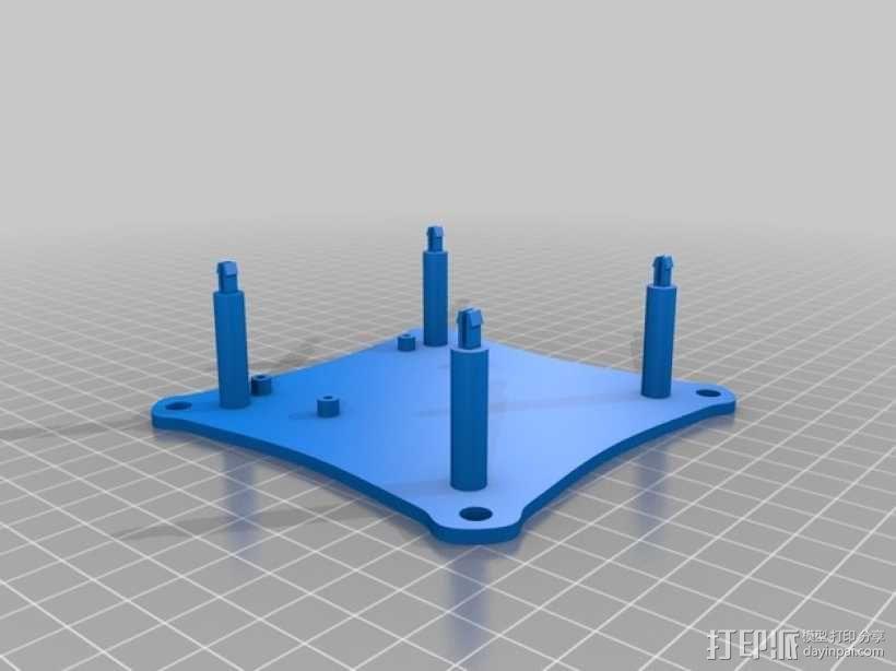 家用DIY搅拌器套件 保护套 3D模型  图7