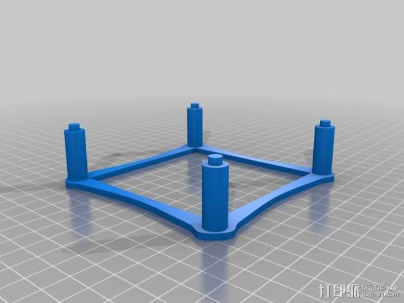 家用DIY搅拌器套件 保护套 3D模型  图8