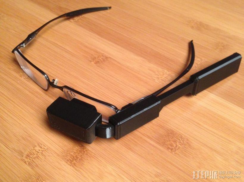 DIY视频眼镜 3D模型  图1