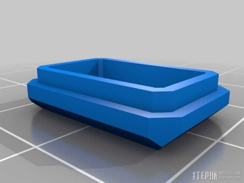 DIY视频眼镜 3D模型  图5