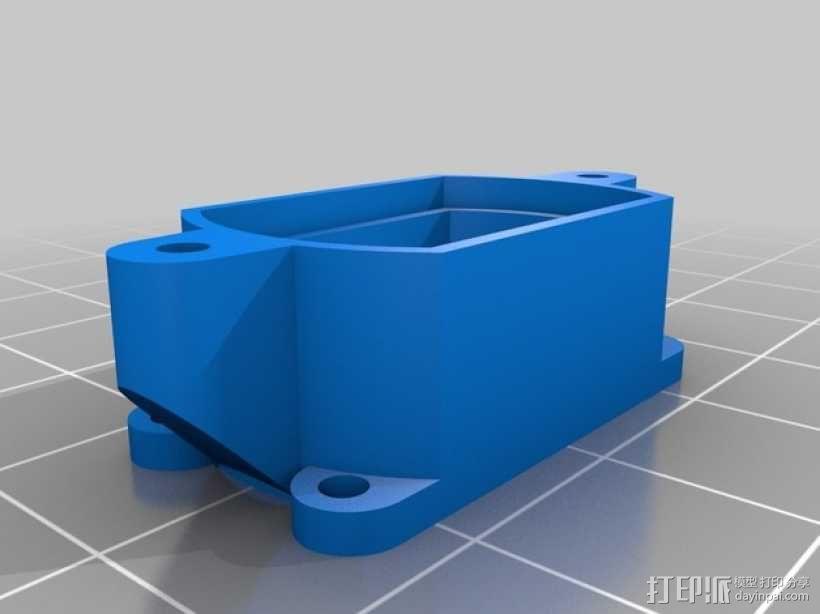 DIY视频眼镜 3D模型  图9