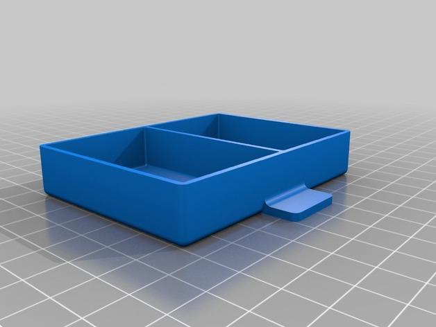 家居小抽屉 3D模型  图1