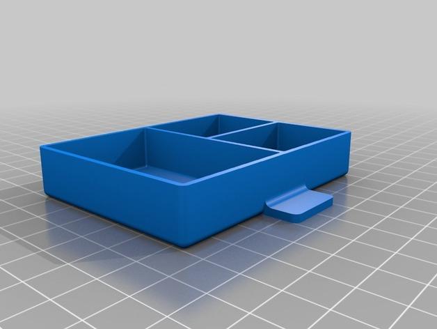 家居小抽屉 3D模型  图2