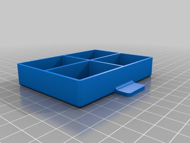 家居小抽屉 3D模型  图3