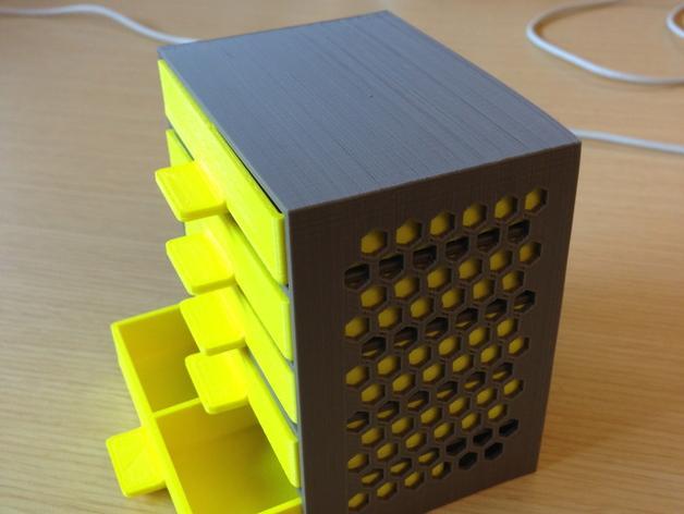 家居小抽屉 3D模型  图8
