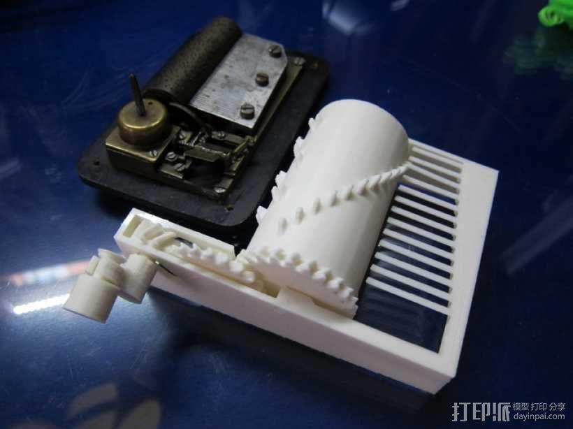 音乐盒 3D模型  图4