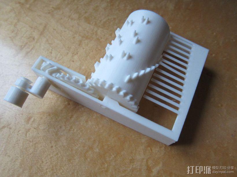 音乐盒 3D模型  图1