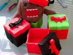礼物盒 3D模型