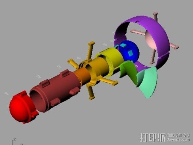 ROV推进器 3D模型  图5