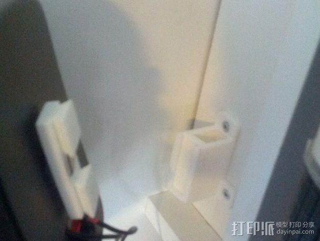 壁挂式扬声器固定夹 3D模型  图9