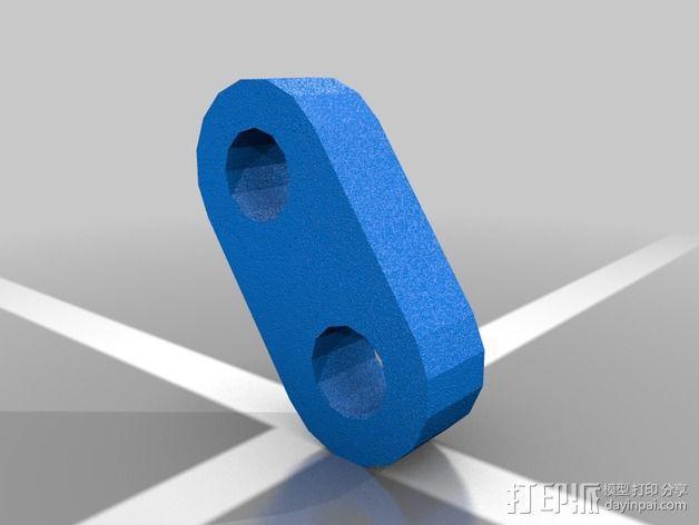 肘节夹 3D模型  图4