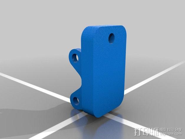 肘节夹 3D模型  图6