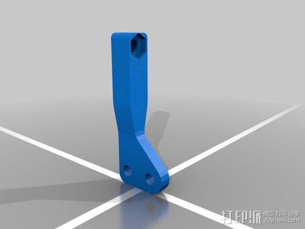 肘节夹 3D模型  图5